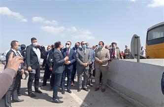 محافظ كفرالشيخ يتفقد محطة المياه الشمالية ومحطة زغلول بالجزيرة الخضراء بمطوبس  صور