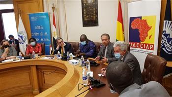 """وزير خارجية """"غينيا"""": خط طيران بين القاهرة وكوناكري لتنمية العلاقات الاقتصادية والسياحية"""