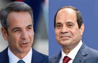 الرئيس السيسي يبحث هاتفياً مع رئيس وزراء اليونان التعاون الثنائي وقضايا شرق المتوسط