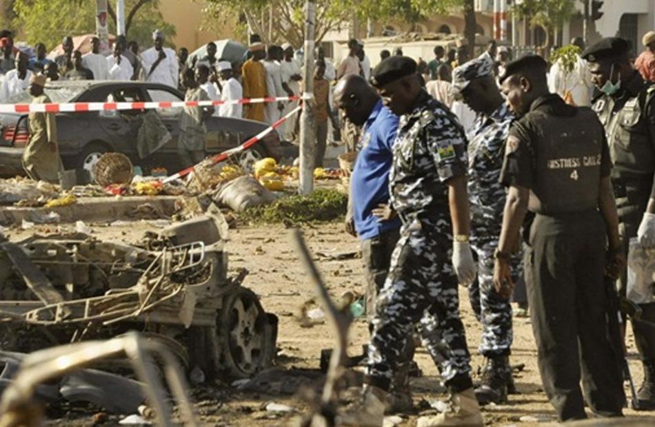 مقتل ما لا يقل عن  شخصًا في هجمات إرهابية بنيجيريا