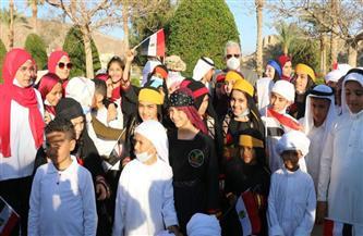 بحضور 4 وزراء.. جنوب سيناء تحتفل بعيدها القومي .. والمحافظ يرفع العلم في ذكرى استرداد طابا | صور