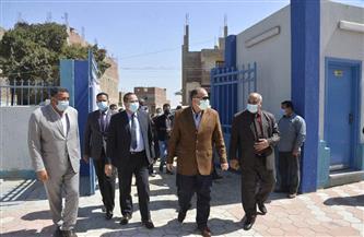 محافظ أسيوط ورئيس الأبنية التعليمية يتفقدان وحدة طب أسرة عرب مطير ومدرسة التجاريين | صور