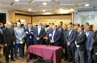 «أبوريدة» يشكر اتحاد الكرة لمساندته في احتفاظه بمنصبه داخل «الفيفا» | صور