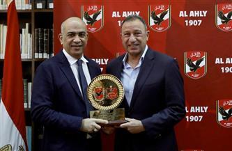 تفاصيل استقبال الخطيب لوفد نادي الأهلي الليبي