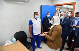 وزيرة الصحة ومحافظ جنوب سيناء يفتتحان وحدة طب أسرة المراخ بتكلفة 23 مليون جنيه | صور