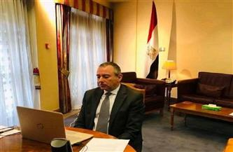 وزير الدولة البريطاني لشئون الشرق الأوسط يثمن الجهود المصرية الرامية لخفض التصعيد بين إسرائيل والفلسطينيين