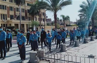 """بمشاركة 1000 شاب وفتاة.. محافظة القاهرة تطلق مبادرة """"جمّل مدينتك""""  صور"""