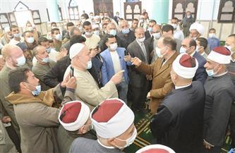 محافظ أسيوط يفتتح مسجد عبد الرحمن بقرية بني عدي القبلية بمنفلوط |صور