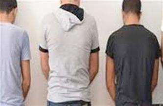 ضبط 3 عاطلين بحوزتهم كمية كبيرة من المواد المخدرة بشبرا الخيمة