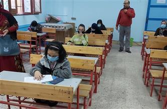 """""""تعليم القاهرة"""": انتظام لجان امتحانات الصف الثاني الثانوي ومرور مسئولي التطوير التكنولوجي لتقديم الدعم"""