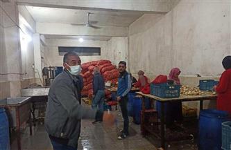 ضبط 30 طن مخلل منتهية الصلاحية في مصنع بالإسكندرية| صور