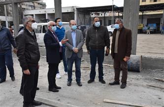 محافظ بورسعيد يتفقد المقر الجديد لتخريد 30 ألف سيارة فى بورسعيد| صور