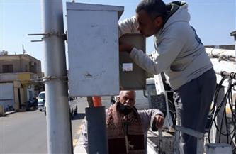 إحلال وتجديد أعمدة الكهرباء وتغطية وعزل الكابلات وإصلاح الأعطال في مدينة سفاجا| صور