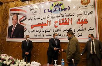 وزير القوى العاملة ومحافظ الإسماعيلية يسلمان 52 عقد عمل لذوي الهمم | صور