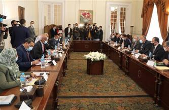 بدء جلسة مباحثات مصرية - سودانية برئاسة وزيري خارجية البلدين