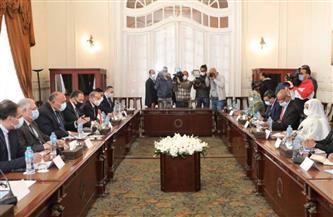 مصر تؤكد التزامها بدعم المرحلة الانتقالية في السودان.. ننشر تفاصيل مباحثات وزيري الخارجية