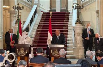 وزير الخارجية: المكون الاقتصادى مهم للغاية فى دفع العلاقات بين مصر والسودان