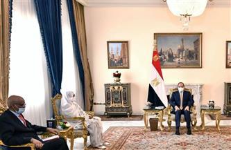 الرئيس السيسي يعرب عن مساندة مصر لجهود تعزيز السلام والاستقرار في السودان الشقيق