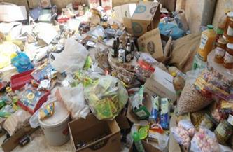 ضبط 7 آلاف عبوة غذائية غير صالحة للاستهلاك الآدمي في حملة بقلين وكفر الشيخ