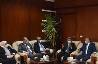 رئيس جامعة الأقصر يستقبل وفد مركز المعلومات التابع لمجلس الوزراء | صور