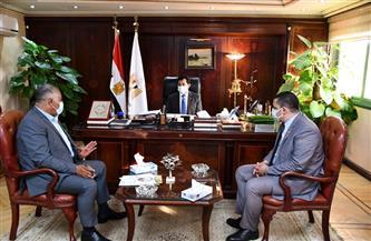 وزير الرياضة يلتقي رئيس الاتحاد المصري للملاحة الرياضية