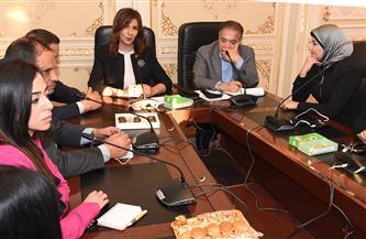 وزيرة الهجرة: نجحنا في إعادة أكثر من 77 ألفا من المصريين العالقين بالخارج بينهم 100 مصري بكينيا | صور