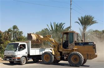 رفع 200 طن تراكمات ومخلفات من شوارع حي ثان طنطا