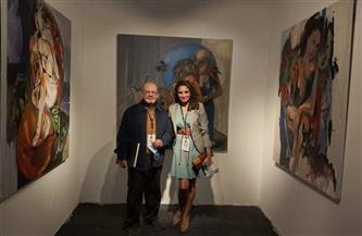 المشاركون بـ «مصر الدولي للفنون»: إضافة حقيقية لسوق الفن | صور