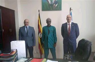 وزير الأمن الأوغندى يعرب عن امتنانه لمتانة العلاقات مع مصر