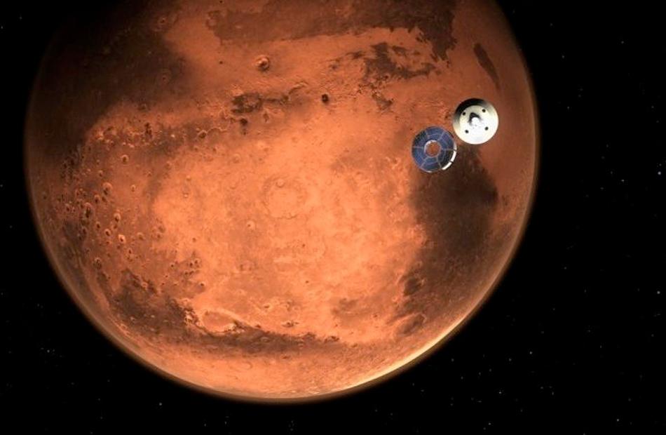 المريخ في أبعد مسافة عن الأرض اليوم