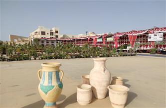 30 عارضًا في افتتاح معرض ديارنا بشرم الشيخ | صور
