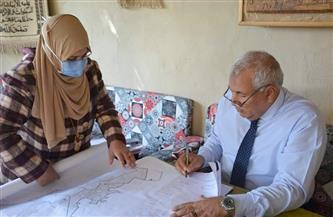 محافظ الوادي الجديد يعتمد المخطط الإستراتيجي العام لمدينة موط بالداخلة  صور