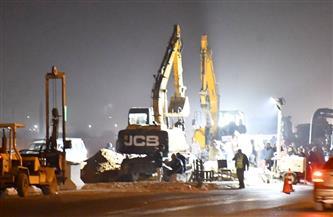 شارع الهرم يستعد للإغلاق.. بدء أعمال حفر مترو الأنفاق بميدان الرماية| صور