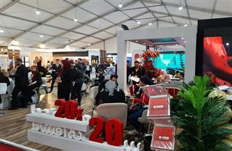 معرض الأهرام العقاري يواصل استقبال المواطنين بالمنصورة.. وتخفيضات لمختلف الشركات | صور
