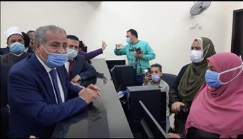 وزير التموين يفتتح مركز خدمة المواطنين في نويبع ودهب بجنوب سيناء
