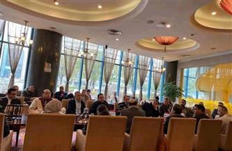 قنصل مصر بشنغهاي يلتقي أفراد الجالية المصرية للاطمئنان على أحوالهم | صور