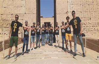 """""""السياحة والآثار"""" تنظم زيارات للفوج الأول لقطار الشباب بعدد من الأماكن السياحية والأثرية بالأقصر"""