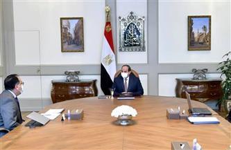 الرئيس السيسي يوجه بمراجعة وحصر قطع الأراضي التي تم تخصيصها في السابق للأنشطة الصناعية