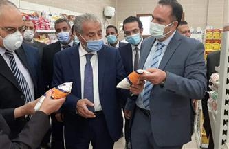 وزير التموين يختتم جولته في جنوب سيناء بتفقد فروع المجمعات الاستهلاكية | صور