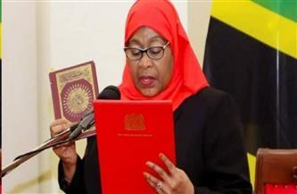 سامية حسن تؤدي اليمين الدستورية رئيسة لتنزانيا بعد وفاة ماجوفولي المفاجئة