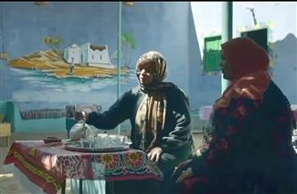 """الرئيس السيسي وقرينته يشهدان فيلما تسجيليا بعنوان""""شجرة المستقبل""""عن مسيرة الأم المصرية"""