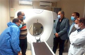 وكيل الصحة بالبحر الأحمر يتفقد مستشفى الغردقة العام | صور