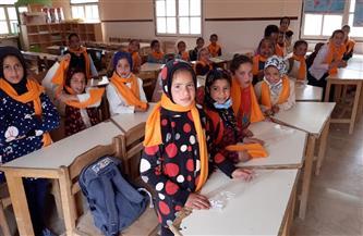 تعليم مطروح: توزيع 500 كوفية صوف على طلاب 8 مدارس | صور