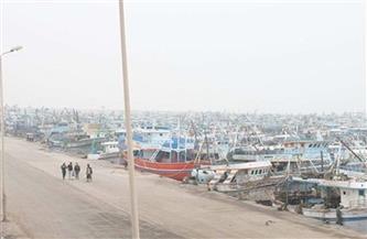 توقف حركة الملاحة بميناء البرلس ومياه البحر المتوسط لليوم الرابع