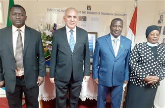 وزير الري يقدم واجب العزاء في وفاة الرئيس التنزاني | صور