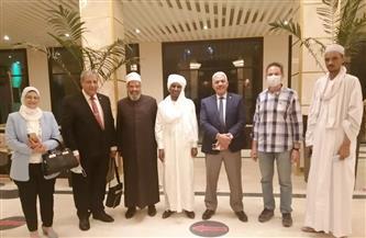 مستشار رئيس تشاد يستقبل وفد جامعة الأزهر | صور