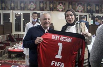 عمومية اتحاد الكرة تحتفل بهاني أبو ريدة