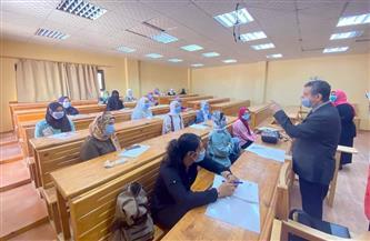 جامعة مطروح: انتظام الدراسة بنظام الهجين في جميع الكليات