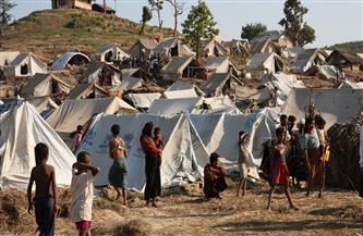 حريق في مخيم للروهينجا جنوب شرقي بنجلاديش