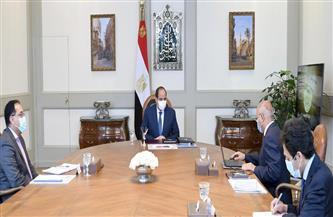 الرئيس السيسي يطلع على الموقف التنفيذي للمشروعات الخاصة بوزارة النقل